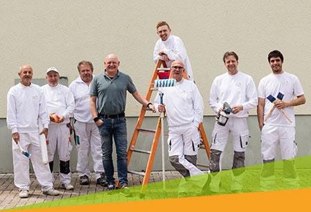 Maler Steiert, Team Freiburg und Kirchzarten