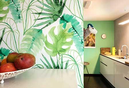 Wohnraumgestaltung Küche, Maler Steiert
